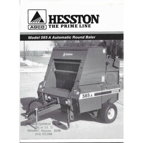 original-oem-hesston-model-565a-automatic-round-baler-sales-brochure-705-500-014