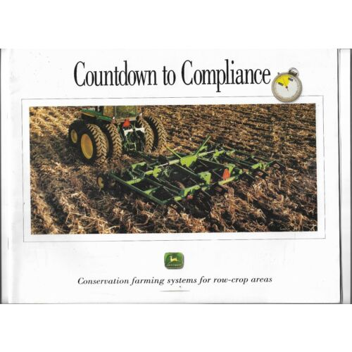 original-oem-john-deere-countdown-to-compliance-row-crop-sales-brochure-dka35