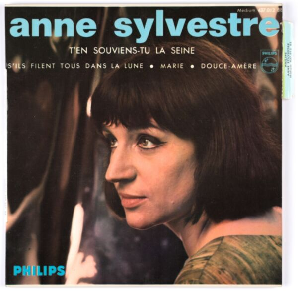 ANNE SYLVESTRE - 1965 France EP 45 tours Philips 437.012 BE