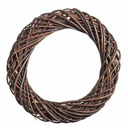 Dark natural Willow Chunky Wreath Large- 35 cm
