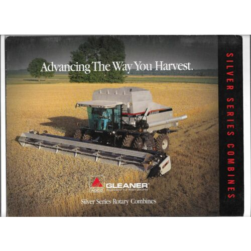 original-oem-oe-agco-gleaner-silver-series-rotary-combine-sales-brochure