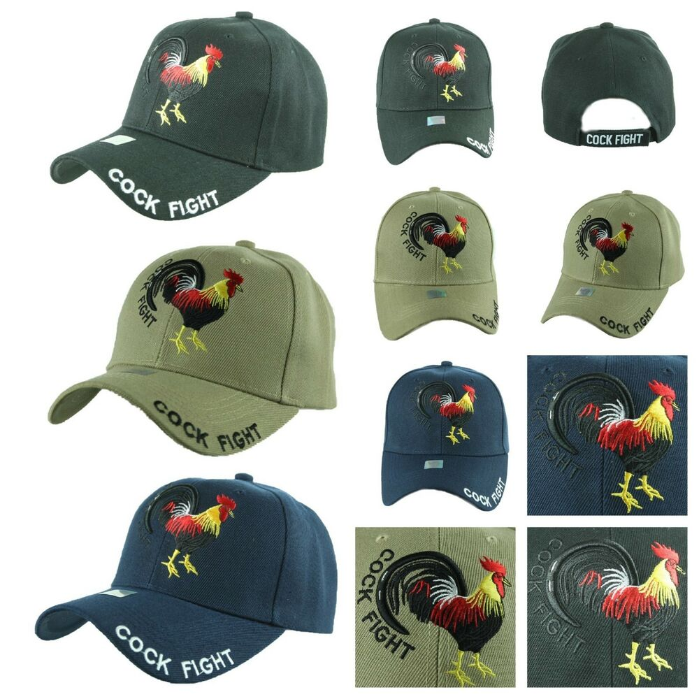 1f06a581fd1 Plain baseball cap cock fight rooster caps solid adjustable casual fashion  hats ebay jpg 1000x1000 Insignia