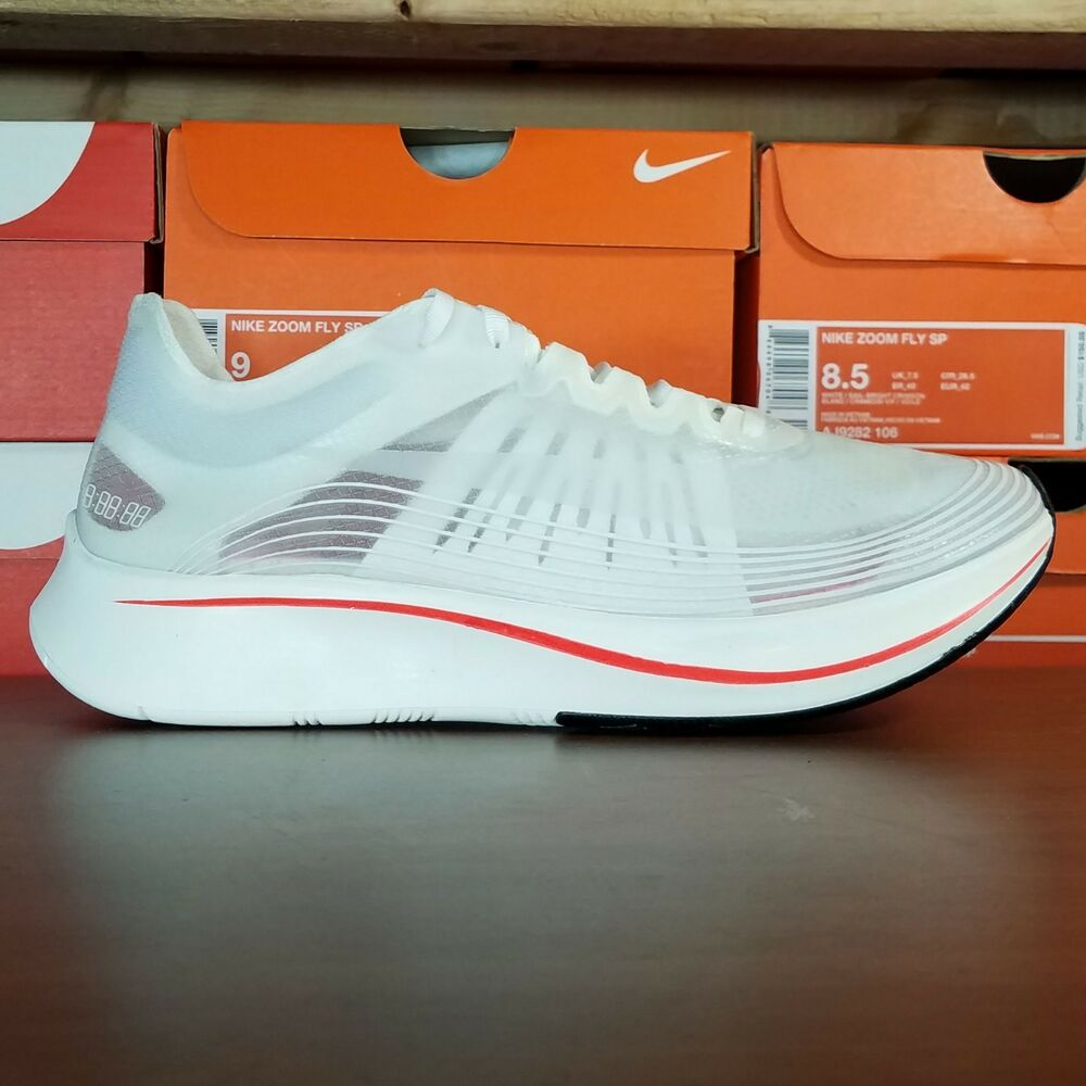 ba38a0ba1b591 Details about Nike Zoom Fly SP Breaking 2 Running Shoes Mens Size 8.5 AJ9282 -106