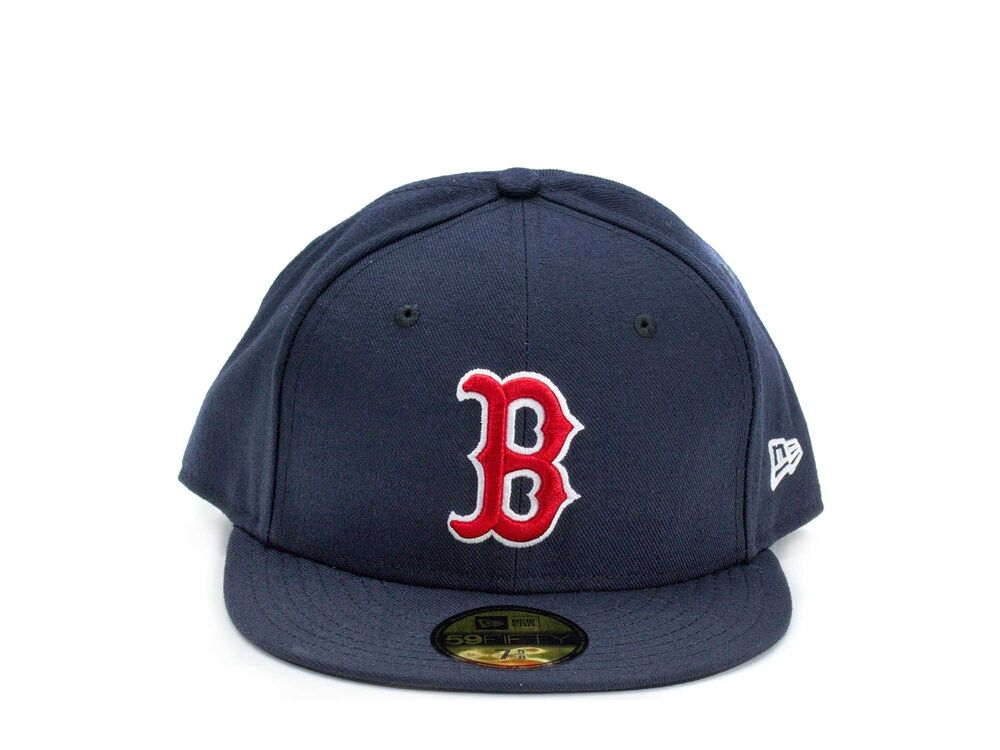 Details about New Era 59Fifty Boston Red Sox Fitted Hat c6f9e7f4295