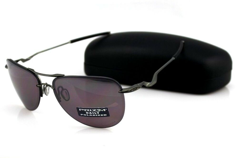 786caa06b34ac POLARIZED New Genuine OAKLEY TAILPIN Carbon Prizm Daily Sunglasses OO 4086- 04 3P 88839084316