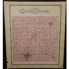 Missouri Gentry County Map Jackson Township 1914  L26#40