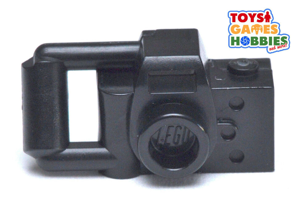 Lego Minifig Camera : New* lego black camera video minifigure minifig accessory city town