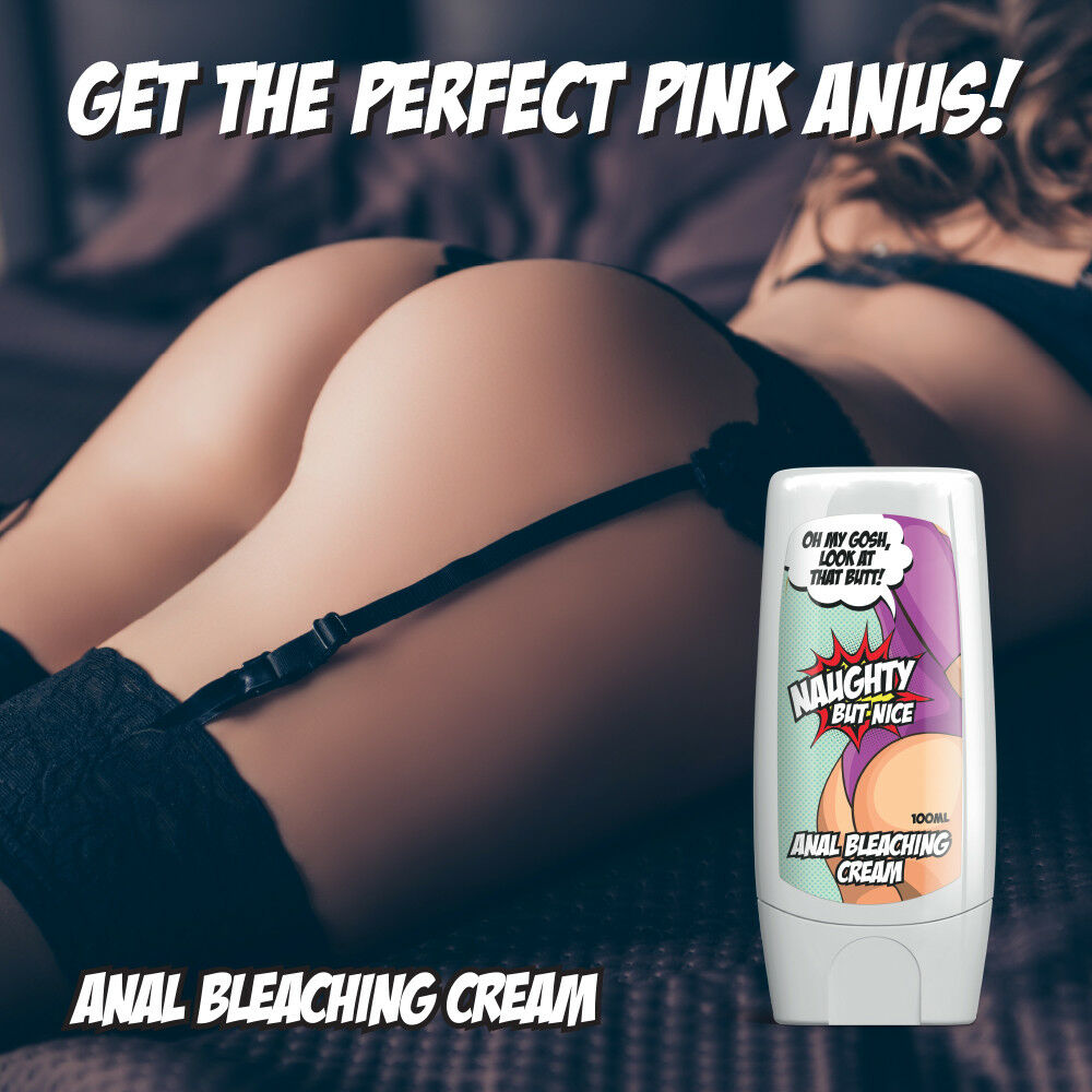 Details about NAUGHTY BUT NICE ANAL BLEACHING CREAM – SEXY TIGHT PINK ANUS  PORN SEXY BUM