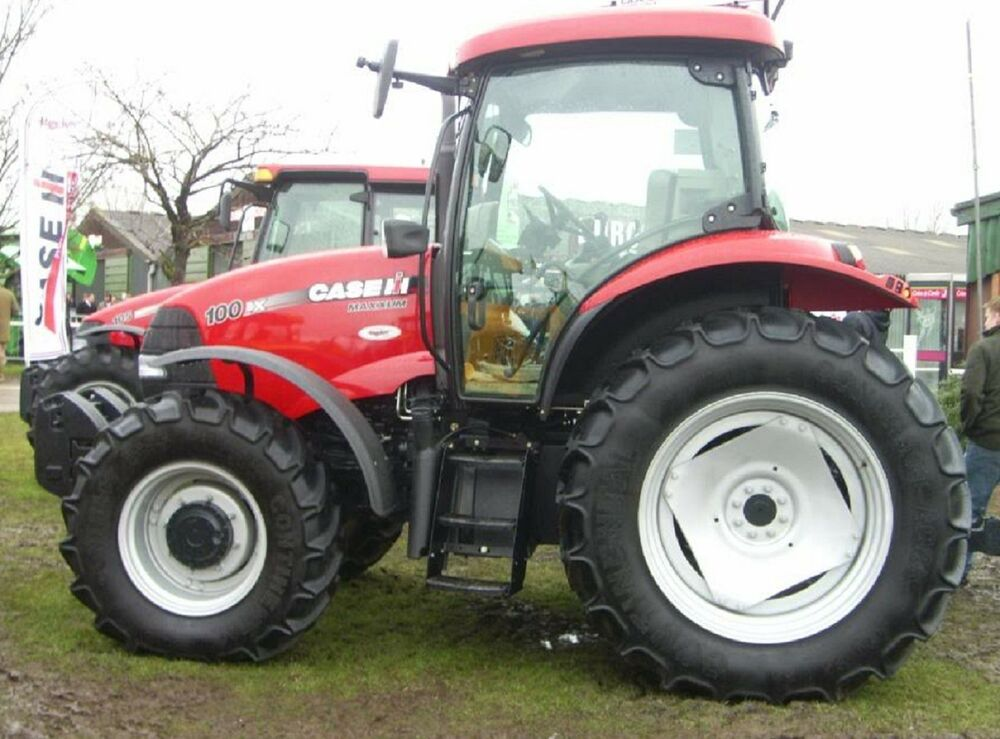 case maxxum 100 110 115 120 125 130 140 tractors workshop repair