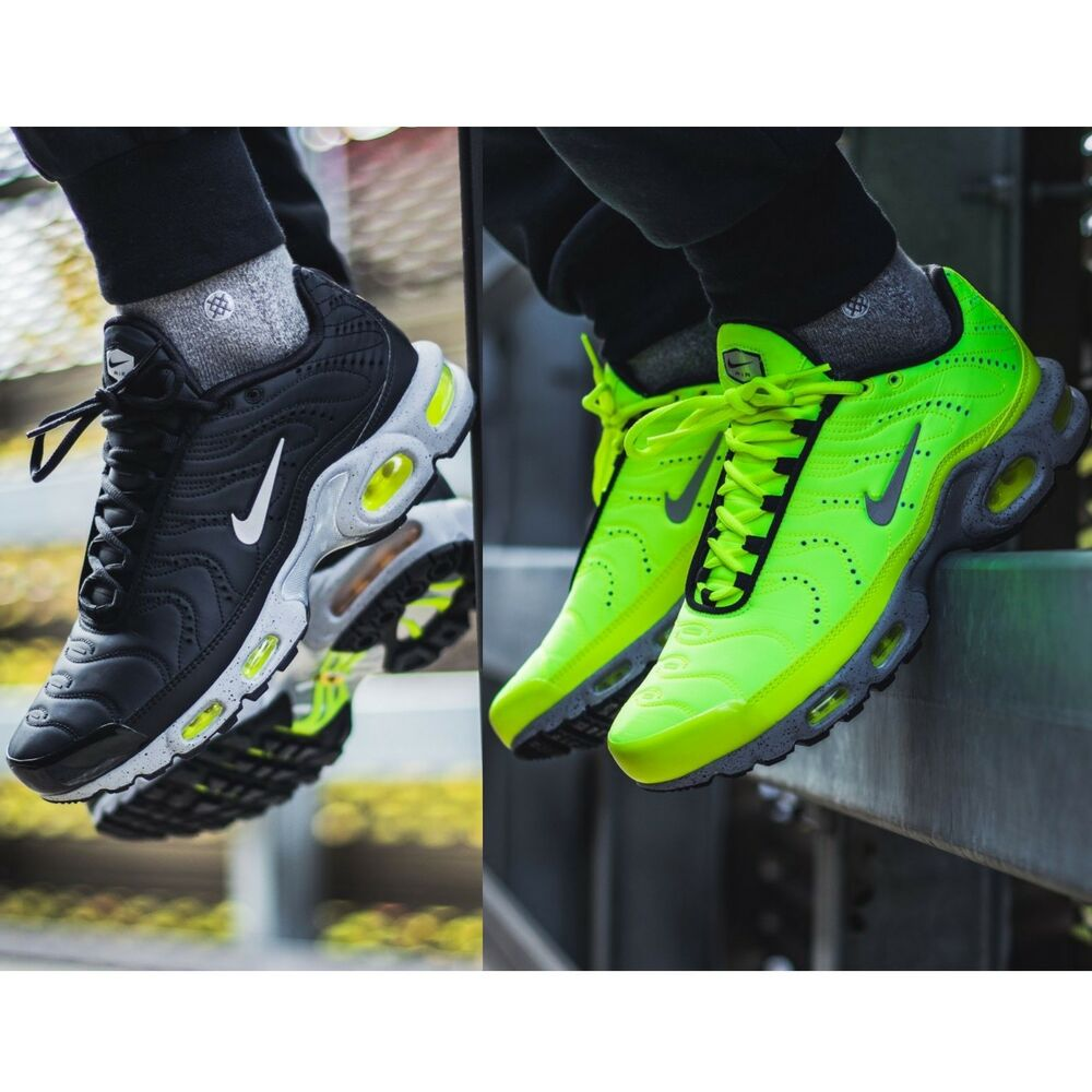 premium selection a0af6 8c95b Details about NIKE AIR MAX PLUS Tn PREMIUM MEN S SHOES LIFESTYLE COMFY  SNEAKERS