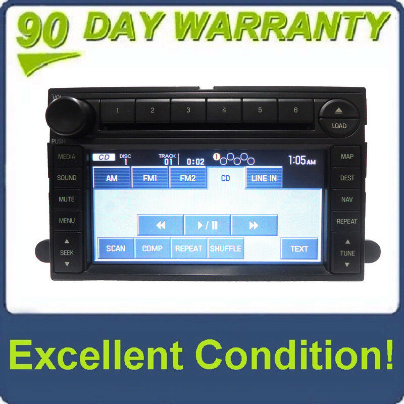 Ford F250 F350 F450 Navigation Gps Radio Stereo 6 Disc Changer Aux Rhebay: Ford F450 Radio At Gmaili.net
