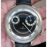 Stunning Oversize Men OMEGA Regulateur Manual Winding Wrist Watch SWISS Made