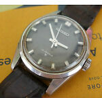 Rare Vintage Men SEIKO High Beat Calibre 66B Hand Wind Wrist Watch JAPAN