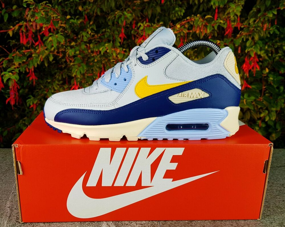Nike Essential Uk Air Blue Trainers Max ® Void Bnwbamp; Authentic 90 GMLzpqSUV