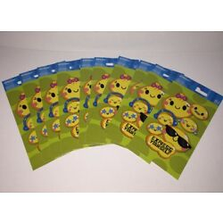 Express Yourself Sticky Smileys Stickers Collection 10 Pieces