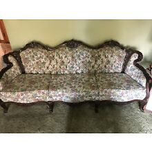 French Style Carved Couch Set