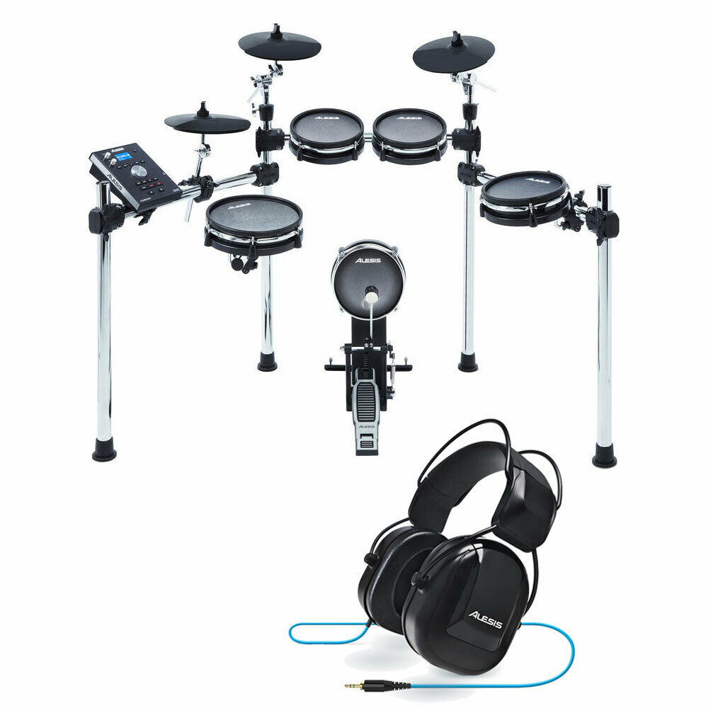 Alesis Command Mesh Kit | Eight-Piece Electronic Drum Kit + Headphone +  Cable 793611016286 | eBay