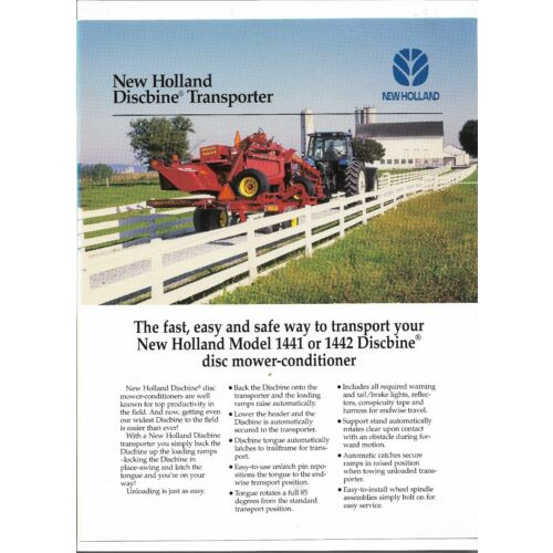 original-new-holland-1441-and-1442-discbine-transporter-sales-brochure-31144120