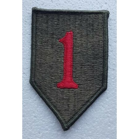 img-US ARMY PATCH 1st Infantry Division Colour Class A Uniform Badge United States