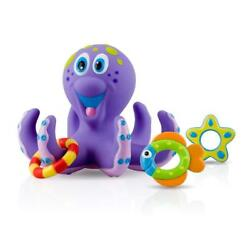Kyпить Baby Toy Bath Nuby Octopus Floating Tub 3 Rings Toss Toddler Child Gift Fun Play на еВаy.соm
