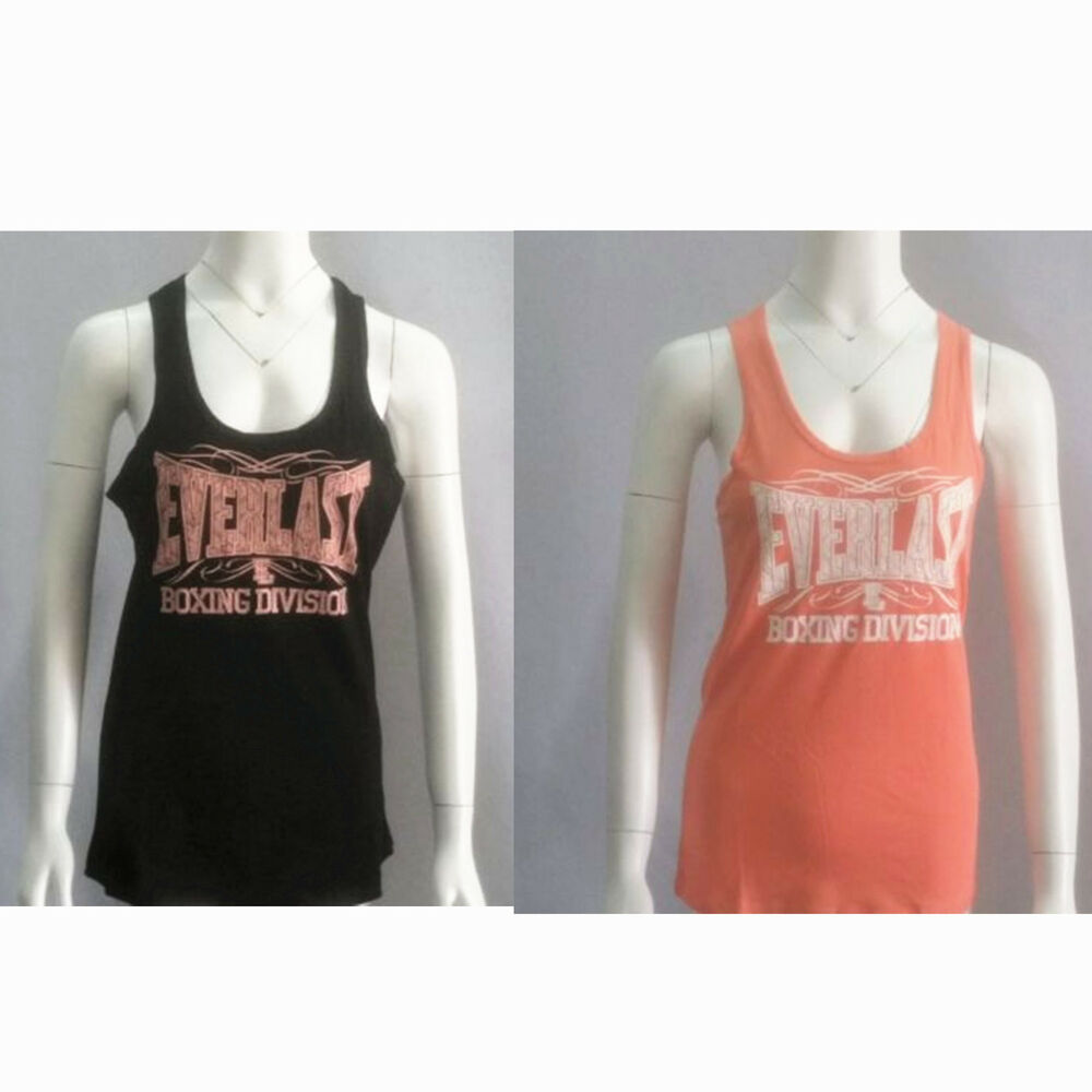84c878e4f0d37 Details about everlast ladies sports yoga tank top soft touch sleeveless  tee shirts jpg 1000x1000 Everlast