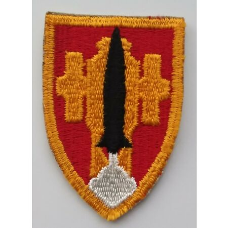 img-US ARMY PATCH Artillery and Missile School Class A Uniform Badge United States