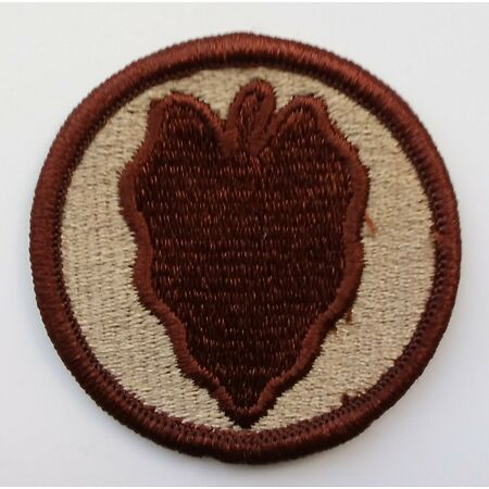img-US ARMY PATCH 24th Infantry Division DCU Desert Tan Uniform Badge United States