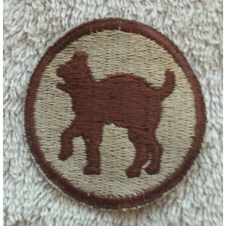 img-US ARMY PATCH 81st Infantry Division DCU Uniform Subdued Badge United States Tan