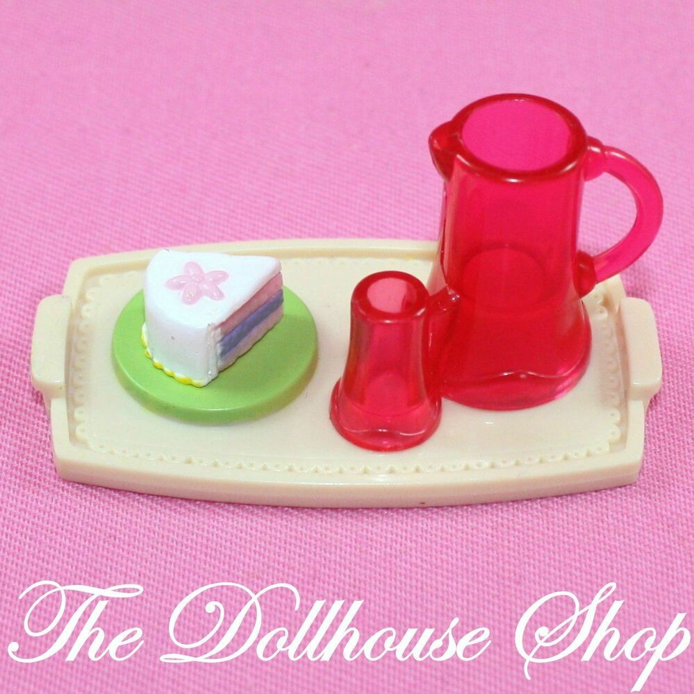 Fisher Price Loving Family Kitchen: Fisher Price Loving Family Dollhouse Swimming Pool Food