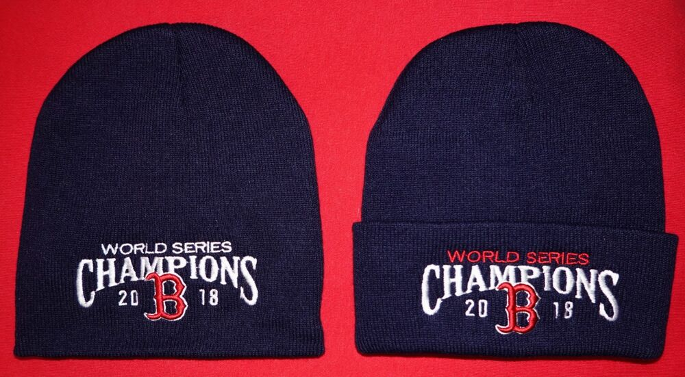 Details about Boston Red Sox 2018 World Series Champs Winter KNIT HATS (2  Pack Deal) NAVY 799d2457d0c