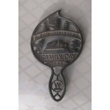 1953 WESTINGHOUSE Electric WE Cast Iron Trivet East Pittsburgh Family Day 65 Yrs