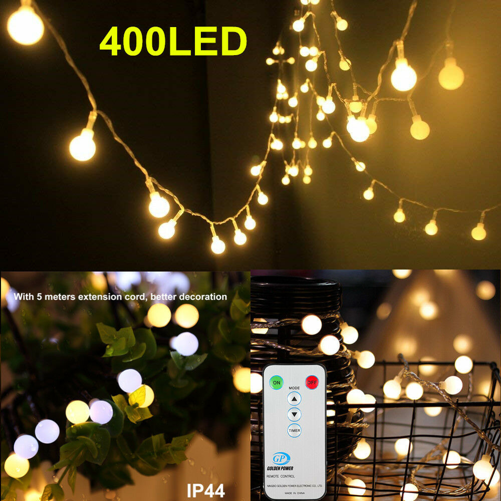 Details About Led String Fairy Lights Wedding Party Decoration Christmas Lamp Remote Control