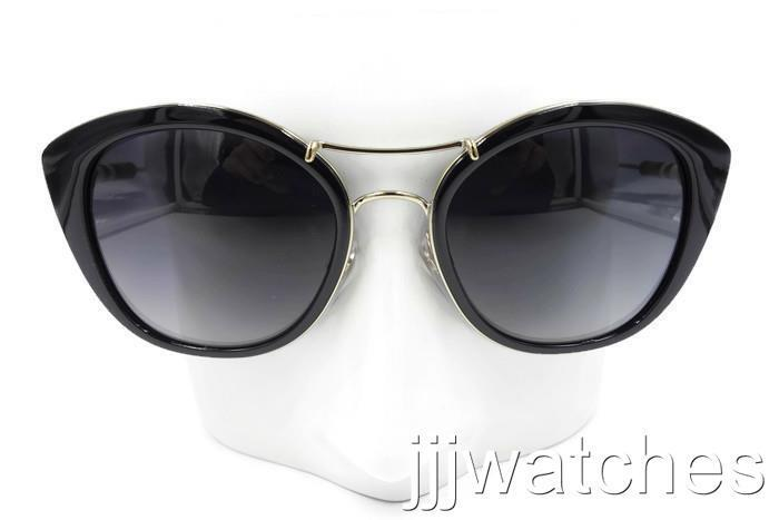 0ed5c3502cda Details about New Burberry Round Cat Eye Black Gray Gradient Sunglasses  BE4251Q 3001T3 53  285