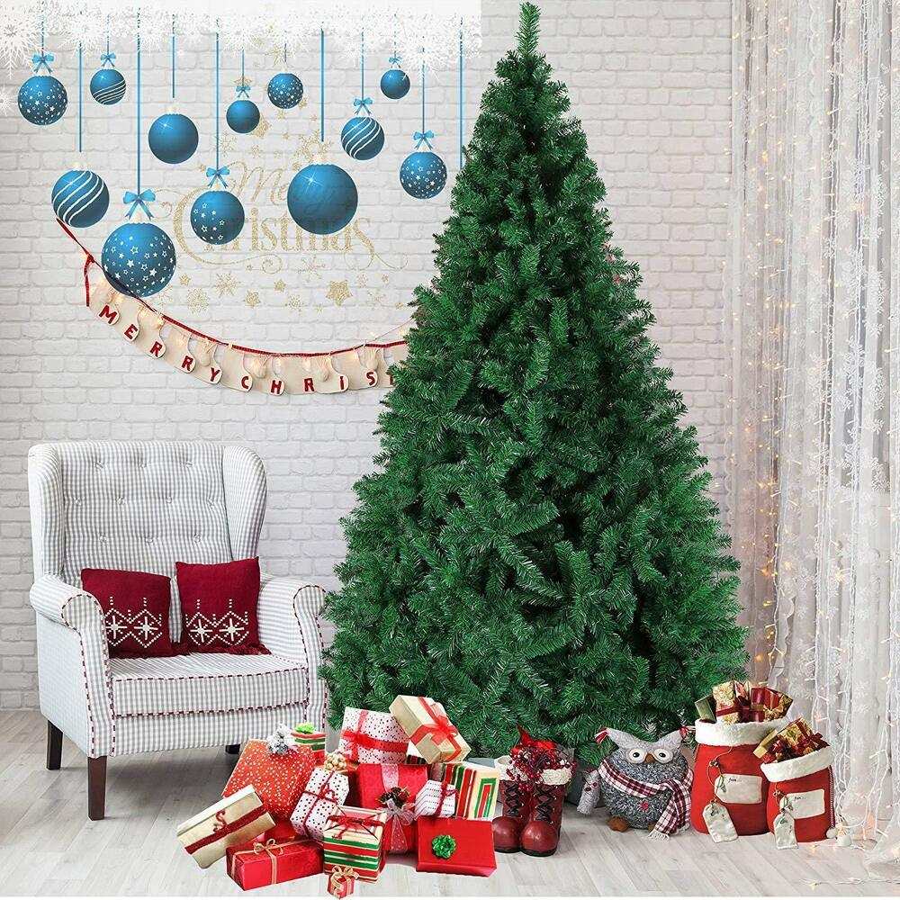 Luxurious Christmas Trees: 5ft Tall Christmas Tree Luxury Green Stand Xmas Classic