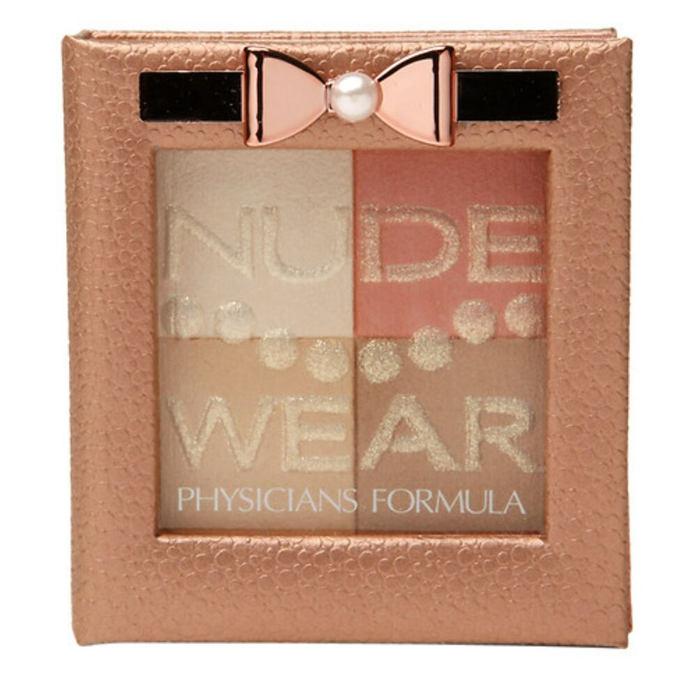 Details about Physicians Formula Nude Wear, Touch of Glow Palette, MEDIUM  Palette PF115
