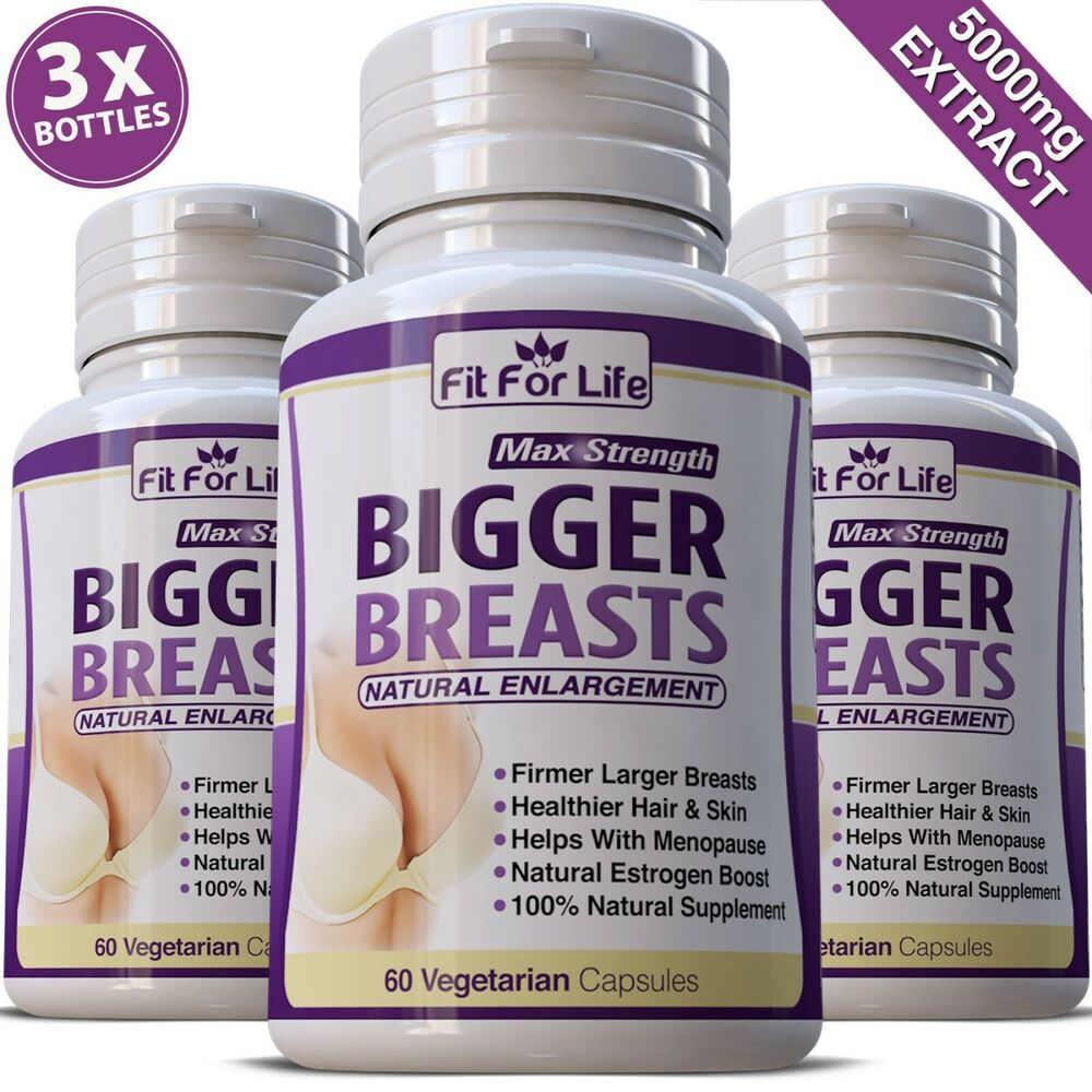Breast Growth Enhancers Enlargement Pueraria Mirifica 60 Pills 100% Original Bright Bust Firm