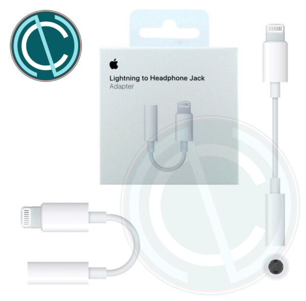 ADATTATORE LIGHTNING A JACK CUFFIE 3.5 MM ORIGINALE APPLE PER IPHONE IPAD A1749