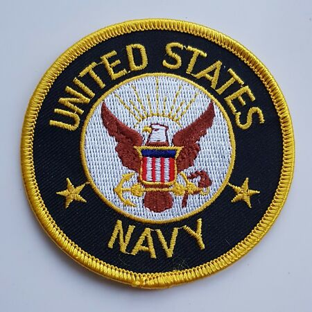 img-US NAVY PATCH Badge/Emblem/Insignia United States of America USA American Naval