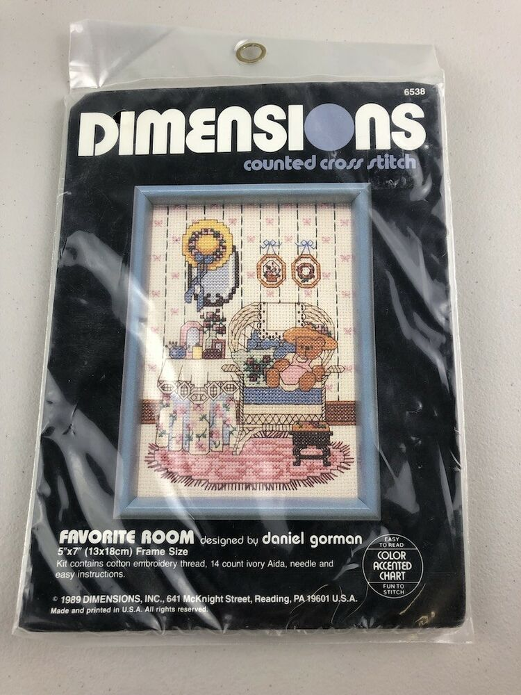 Dimensions Counted Cross Stitch Kit