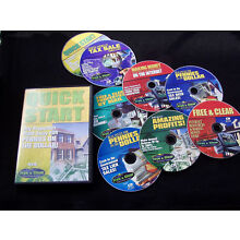JOHN BECK FREE CLEAR REAL ESTATE TRAINING COURSE CD/DVD