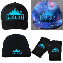 Battle Royale Esports Game snapback Warm Hat Cap Gloves Colorful USA
