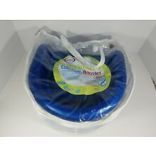 Baby Smart Toddler Cooshee Booster Seat Blue Soft Foam CooshieChair with Case