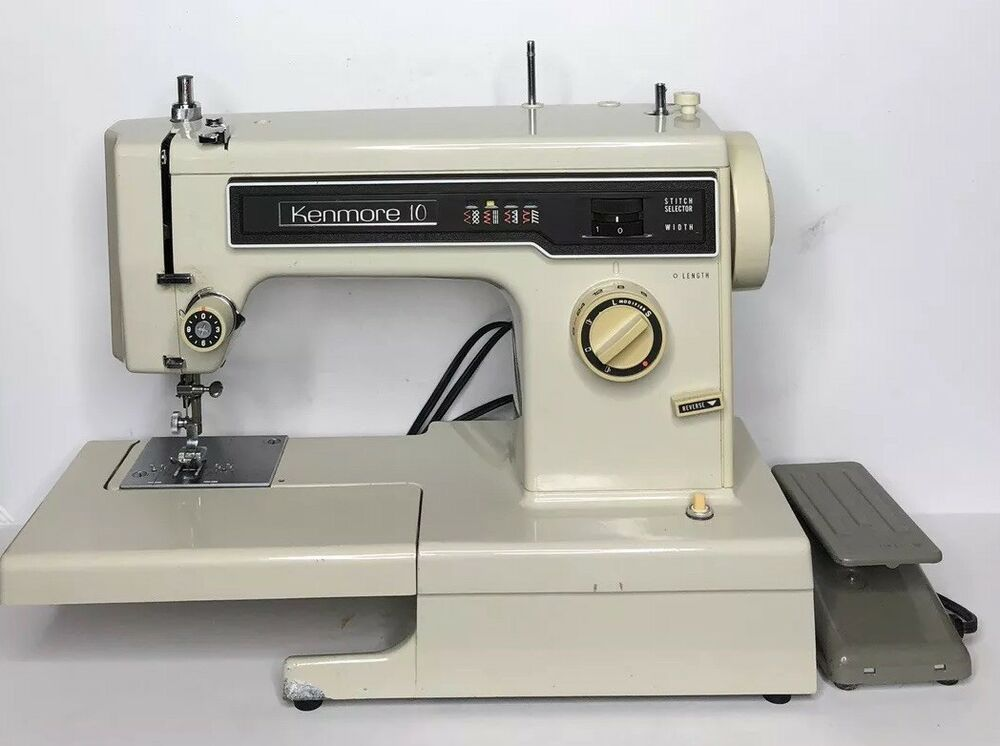 Vintage Kenmore 40 Heavy Duty 40 Stitch Zig Zag Sewing Machine Impressive White Sewing Machine Model 622