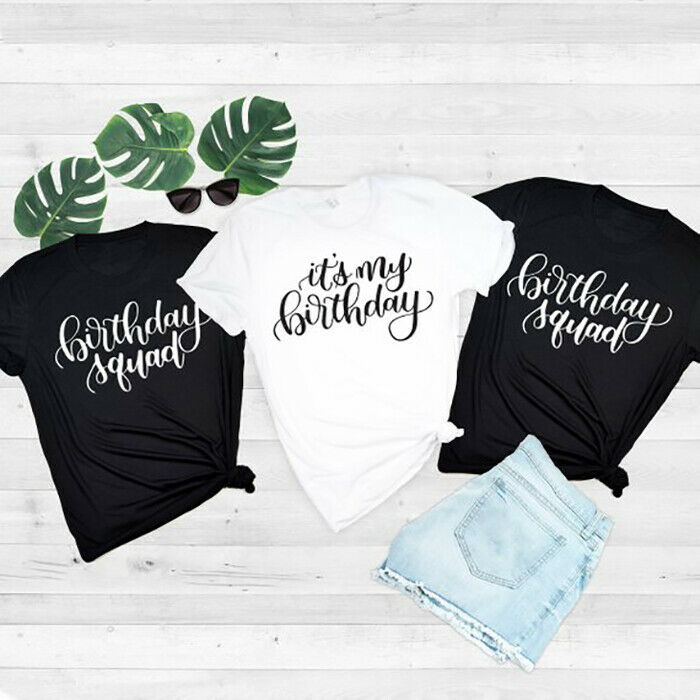 Details About Birthday Girl T Shirt Its My Tee Shirts Women Ladies Men Gift