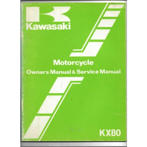 original-oe-oem-kawasaki-kx80-motorcycle-owners-service-manual-99920117101