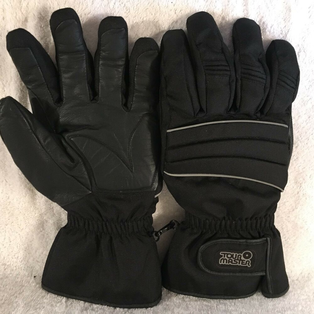 Tourmaster Cold-Tex Winter Motorcycle Gloves Black XX