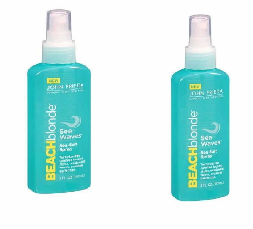 2 Pack John Frieda Beach Blonde - Sea Waves - Sea Salt Spray - 5 oz - | eBay