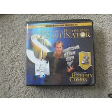 Confessions Of A Recovering Procrastinator Jeffery Combs Used(10 audio CD set)