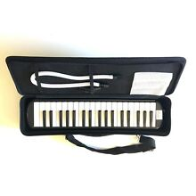 Visconti by  Vasconcelos Brand - NEW 37 Key Black Melodica & Carrying Case