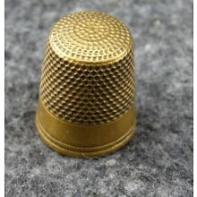 UNBRANDED SIZE 10 BRASS SEWING THIMBLE